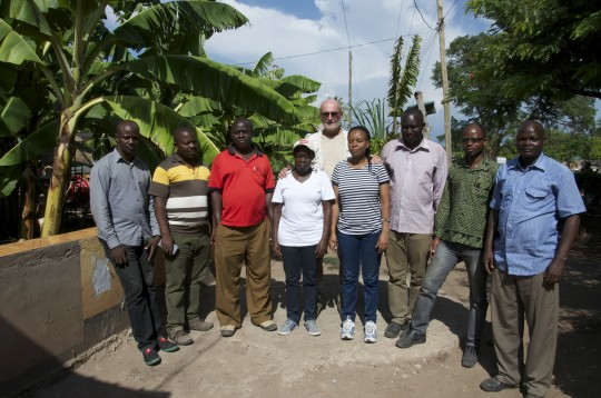 From left to right: Chacha,Talam, Edi, Agatha, Ben, Joyce, Isack, Mohamed, Pascal